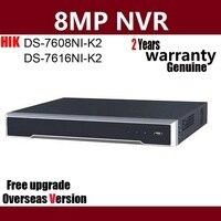 Hikvision DS 7608NI K2 DS 7616NI K2 8CH 16CH 4 К H.265 NVR сети видео Регистраторы