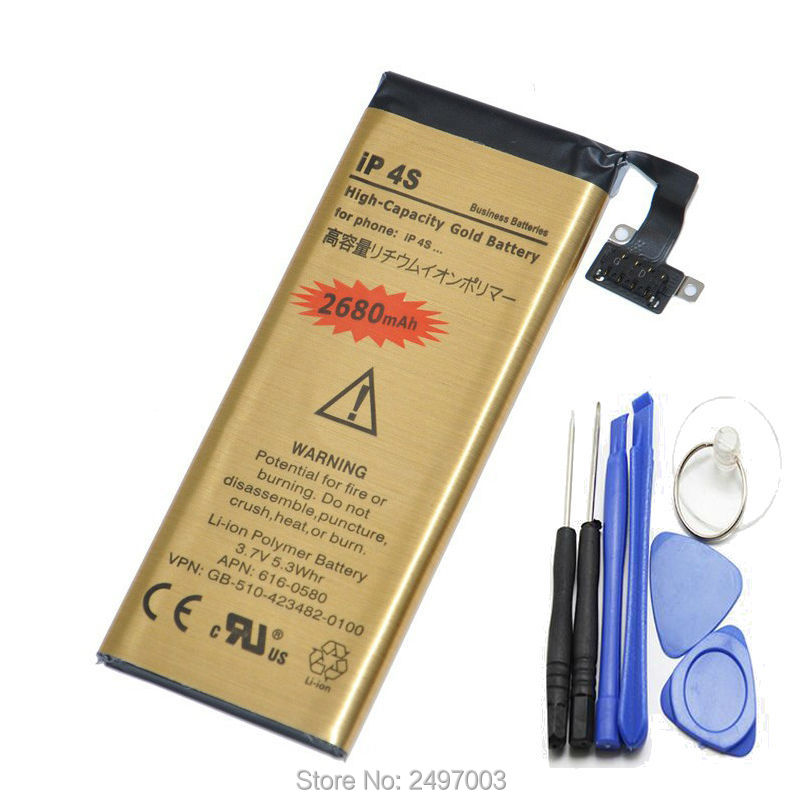 for iphone 4s battery 100 original brand phone battery. Black Bedroom Furniture Sets. Home Design Ideas