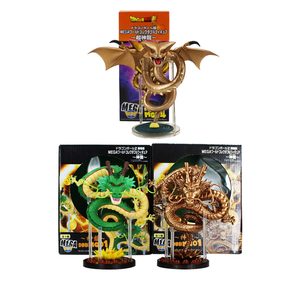 3 styles 15cm Anime Dragon Ball Z ShenRon ShenLong PVC Action Figure Collection Model Toy selectable how to train your dragon 2 dragon toothless night fury action figure pvc doll 4 styles 25 37cm free shipping retail