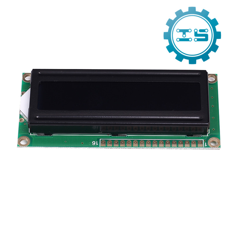 5V LCD1602A Red Character Dot Matrix LCD Display Module Black Background Modules 16x2 Parallel Port favourite 1602 1f