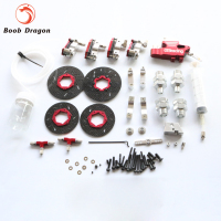 GTB 4 wheel hydraulic brake set for HPI King Motor Baja 5B SS 5T