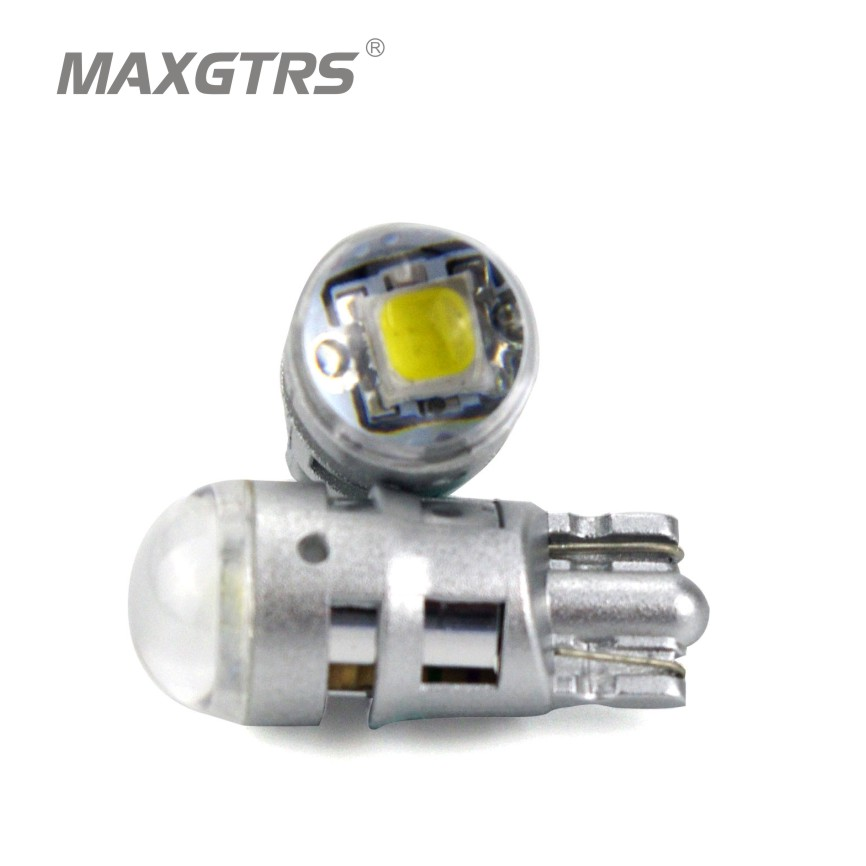 5x <font><b>T10</b></font> 168 194 2825 <font><b>W5W</b></font> For <font><b>CREE</b></font> Chip Led Replacement Bulbs Car License Plate Parking Lights Lens White/Yellow/Blue/Red/Pink image