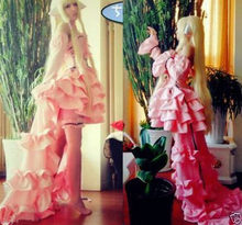Gothic Lolita Chobits Chii Evening dress Cosplay Costume Custom Made Free Shipping(China)