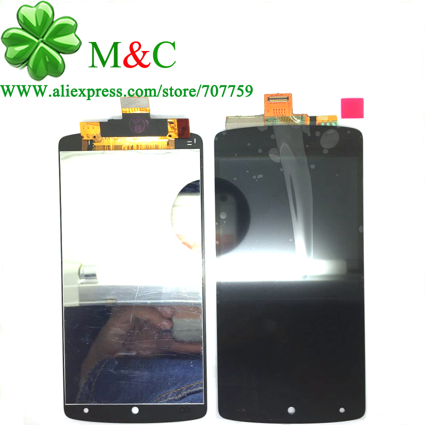 ФОТО Original D820 LCD Touch Panel for LG Google Nexus 5 D820 D821 LCD Display Touch Screen Digitizer Glass Panel Assembly Tracking