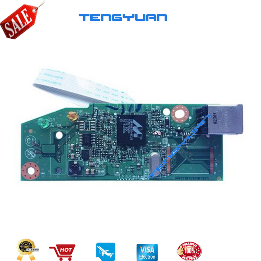 New Original laser jet CE668-60001 RM1-7600-000CN for HP laserjet P1102 P1106 P1108 P1007  formatter board Printer parts on sale original all in one printer parts network board for hp m4345mfp fax board q3701 60004 remove from new machine new version