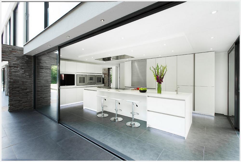2017 Neue Design Moderne Modulare Küchenschrank Passt Weiß Küche Möbel 2pac  Küchentür
