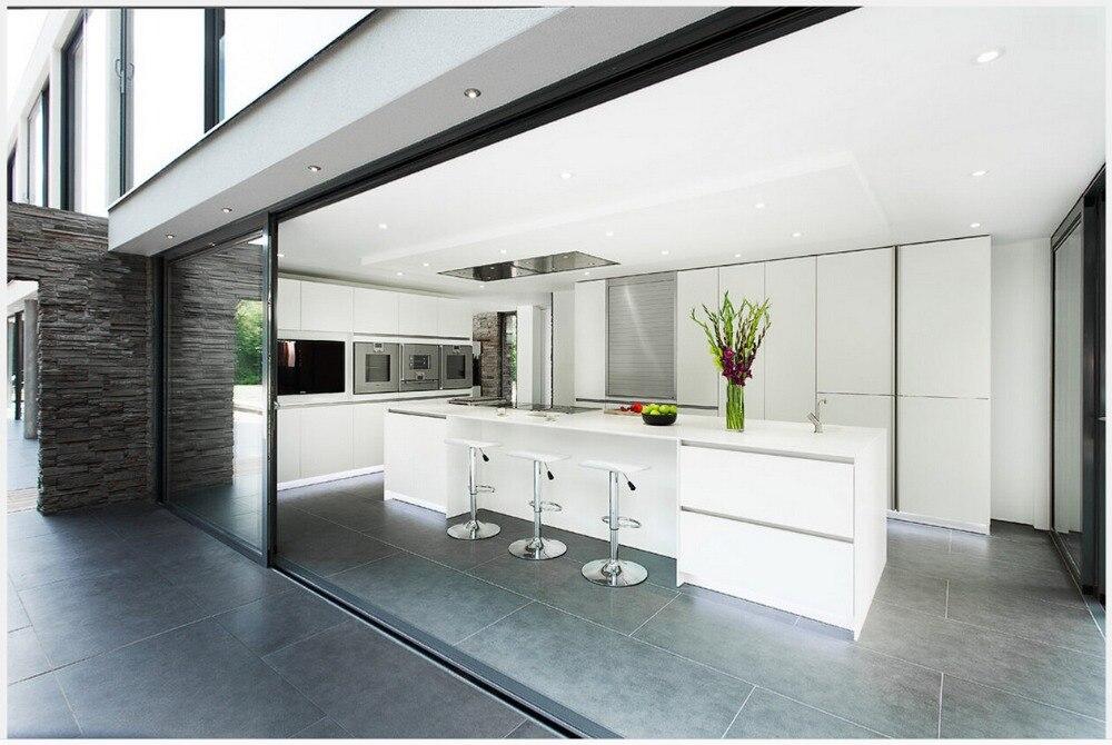 Cuisine moderne blanc laqu download noir laqu et laqu for Porte cuisine moderne