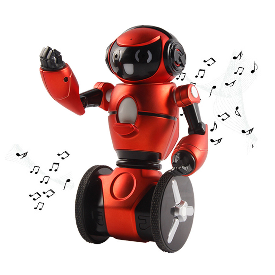 2016 New Arrival WLtoys F1 19cm Lightweight 2.4G Intelligent Balance G-Sensor Accelerometer Based Control RC Robot a8827d 360 degree self leveling 3 lines 3 points rotary horizontal vertical red laser levels cross laser line laser highlights