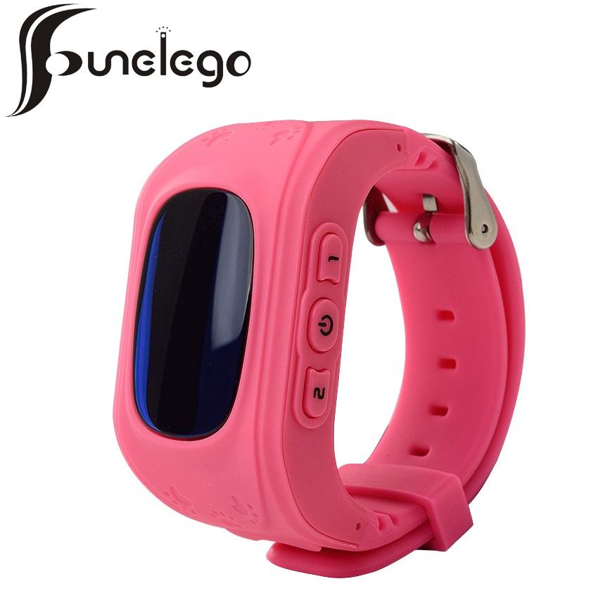 Funelego q50 Smart Watch For Kids GPS <font><b>Tracker</b></font> For Children Wearable LCD Screen With SIM Card Slot Cell Phone Baby Watch