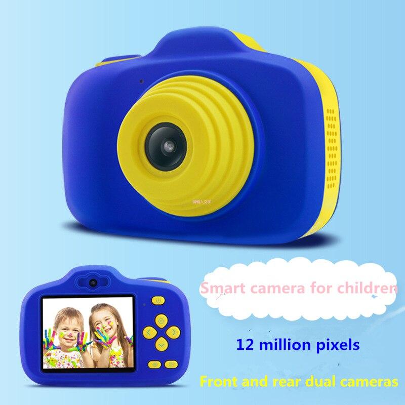Mini appareil photo numérique pour enfants jouet petit reflex double appareil photo objectif appareil photo jouet noël enfants vacances cadeaux jouet