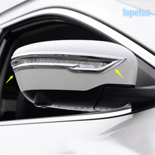 Chrome Rearview Mirror Strip Cover Trims For Nissan Rogue 2014 2015 / X-trail 2014-2015 цена в Москве и Питере