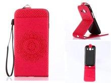 Ярко-розовый тиснением PU кожаный бумажник Стенд Флип вверх и вниз Флип Новый чехол линии для LG G3 случае