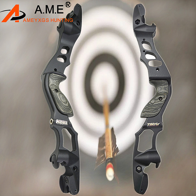 1pc ILF Recurve Bow Riser Takedown Hunting Bow Riser Aluminum Alloy Handle Outdoor Traing Hunting Shooting Archery Accessories1pc ILF Recurve Bow Riser Takedown Hunting Bow Riser Aluminum Alloy Handle Outdoor Traing Hunting Shooting Archery Accessories