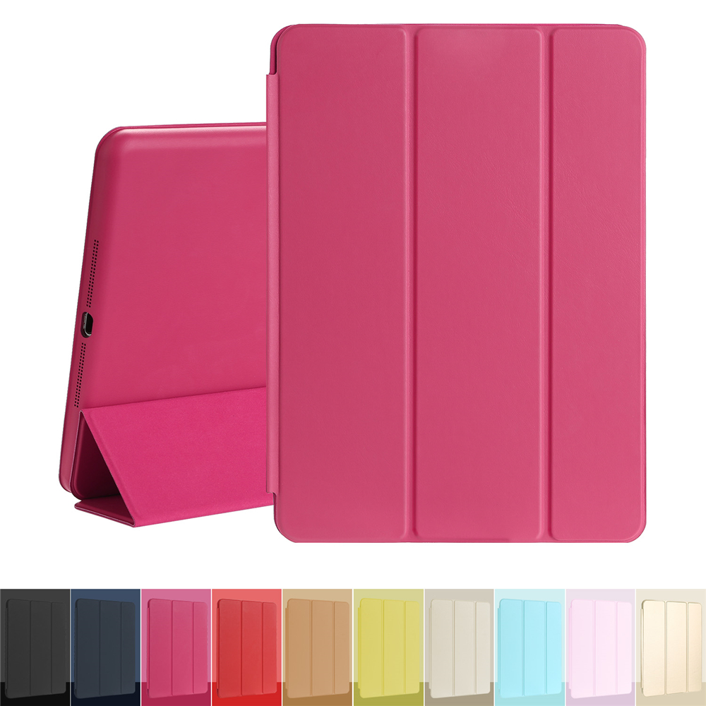 Case for iPad Air 1 Magnetic Leather Smart Cover for Apple iPad Air 1st Generation with Rubberized Back Case Auto sleep Wake case for ipad air 2 esr rubber cover ultra slim fit pu leather smart case rubberized back cover for ipad 6 for ipad air 2