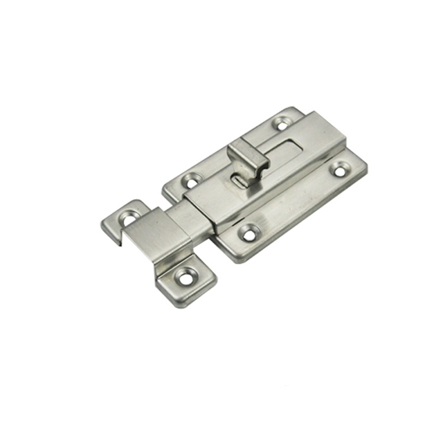 DHL Free Shipping 100pcs Stainless Steel Square Door Bolt Latch Door Buckle with screws cheap price  sc 1 th 225 & DHL Free Shipping 100pcs Stainless Steel Square Door Bolt Latch Door ...