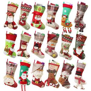 xin dun christmas stocking gift bag socks candy decorations - Best Christmas Stockings