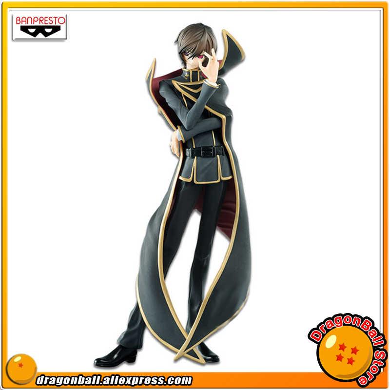 """Japonya Anime """"kod Geass: Lelouch en isyan"""" orijinal Banpresto EXQ koleksiyonu şekil-Lelouch Lamperouge ver.2"""