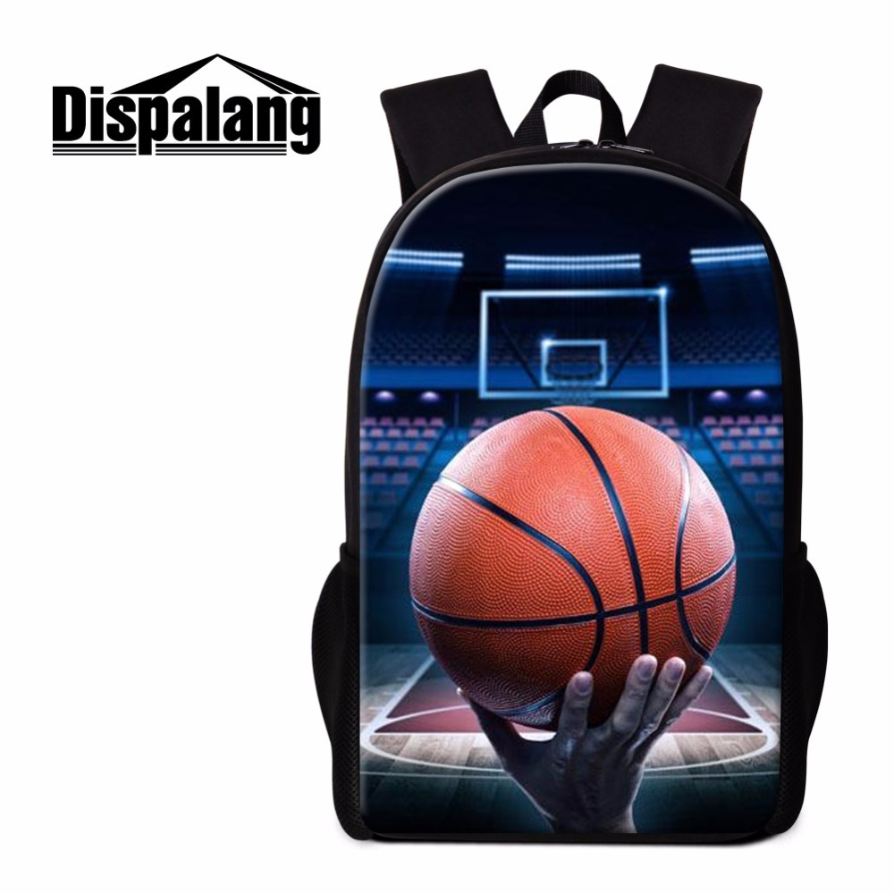 Dispalang Boys School Backpack Sporty Basketbally Bookbag Fashionable Shoulder Back Pack Cool Rucksacks for Teenagers Schoolbags
