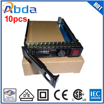 DHL/Fedex Free Shipping 651699-001 2.5 inch SATA Hard Drive HDD Caddy Tray For HP G8 G9 Server 1