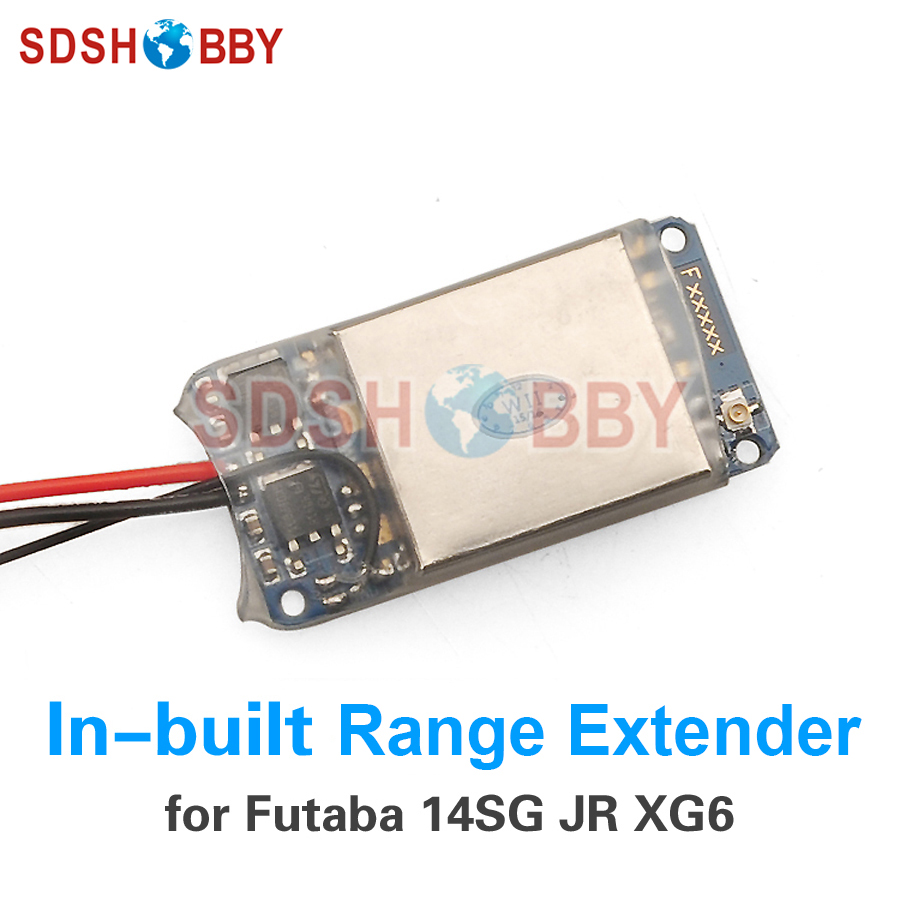 Futaba 14SG JR XG6 Remote Controller Range Extender Module DIY Module In-built Non-destructive Installation remote controller signal booster module diy module in built non destructive installation for futaba 14sg jr xg6 rc drone f18732