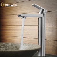 DiKon LM11 Bathroom Basin Water Faucet Simple Style 304 Stainless Steel Mixer Tap Water Saver Spray