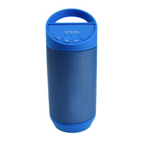 Mini Colorful Flash LED Light Wireless Bluetooth Speaker With Built In Battery Support FM Radio TF