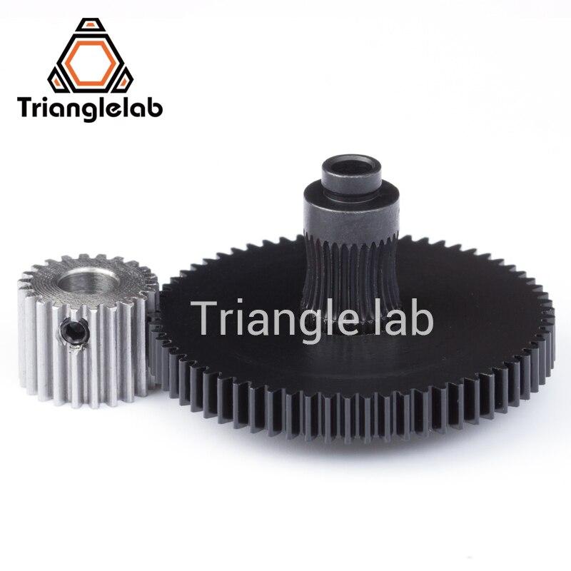 Trianglelab 3d printer reprap Titan Extruder spare parts gear Hobb (Hardened Steel) & stepper motor mk8 i3