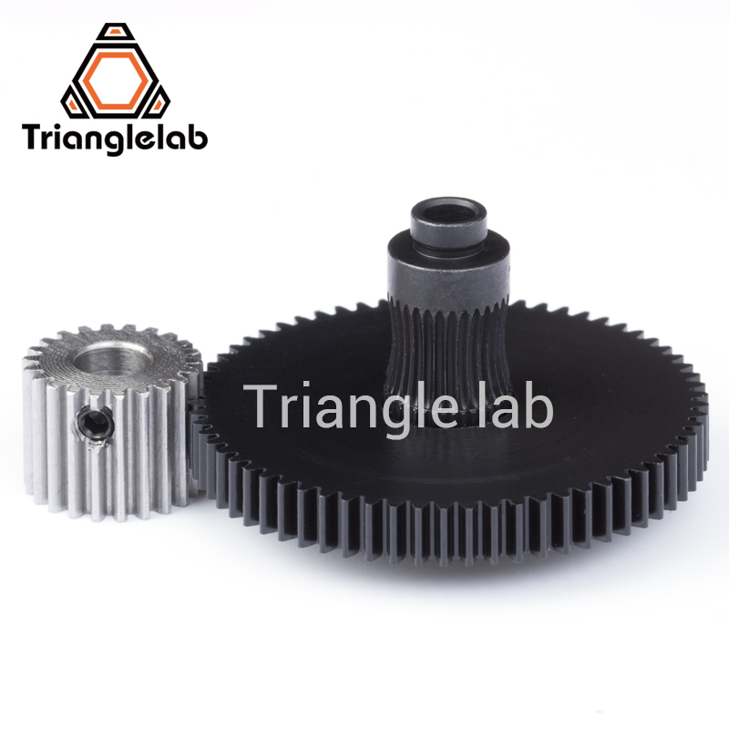 Trianglelab 3d printer reprap Titan Extruder spare parts gear Hobb (Hardened Steel) & stepper motor mk8 i3