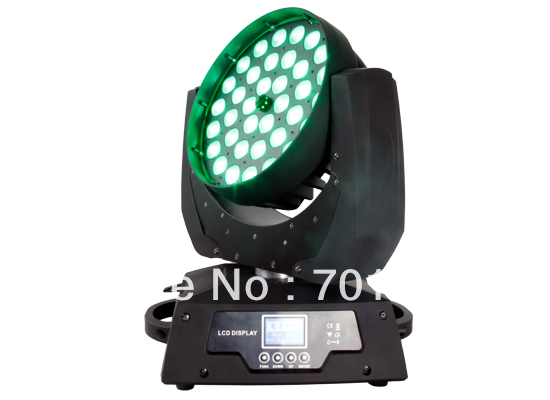 36*10W Quad-in-1 LED Zoom Moving Head Light