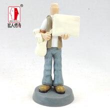 cake topper Birthday gift Custom portrait doll custom personalized custom real clay dolls fixed body DR395 resin