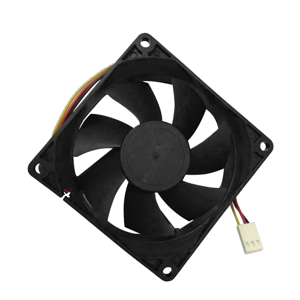 2017 Quiet 8cm/80mm/80x80x25mm 12V Computer/PC/CPU Silent Cooling Case Fan  JU22 ангельские глазки 80 mm