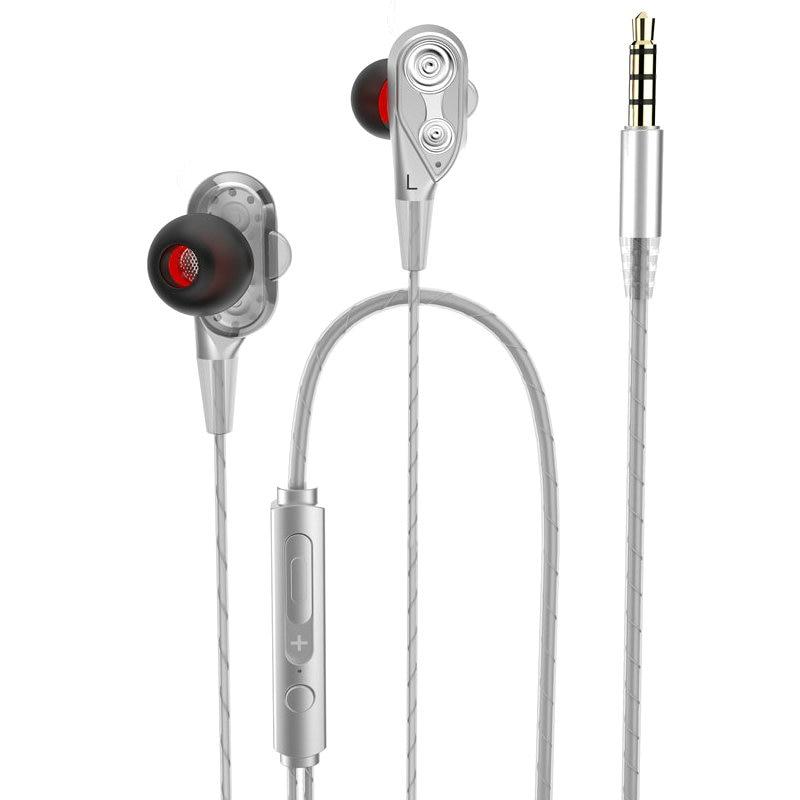 JOYTOP Žičani slušalice Slušalice visoke frekvencije s dvostrukim - Prijenosni audio i video - Foto 2