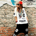 Hiphop Camiseta Hip Hop Roupa Das Mulheres Hip Hop Tshirt Roupas Femininas O Pescoço Tops T T-shirt Roupas Hiphop Kpop BTS