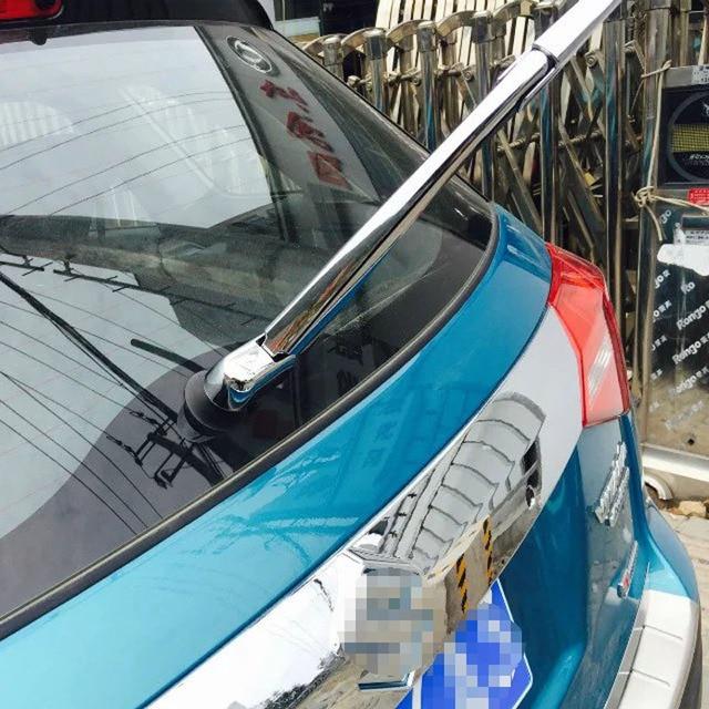 For Suzuki Vitara  Escudo 2015 2016 Rear Wiper Cover ABS Chrome Rear Wiper Trim Stickers Car Styling Accessories 3Pcs/Set 2017