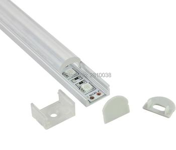 10Sets/Lot U Led aluminum profile for led strip 5630 or Aluminium LED profile LED Channel profile for recessed wall lights фото