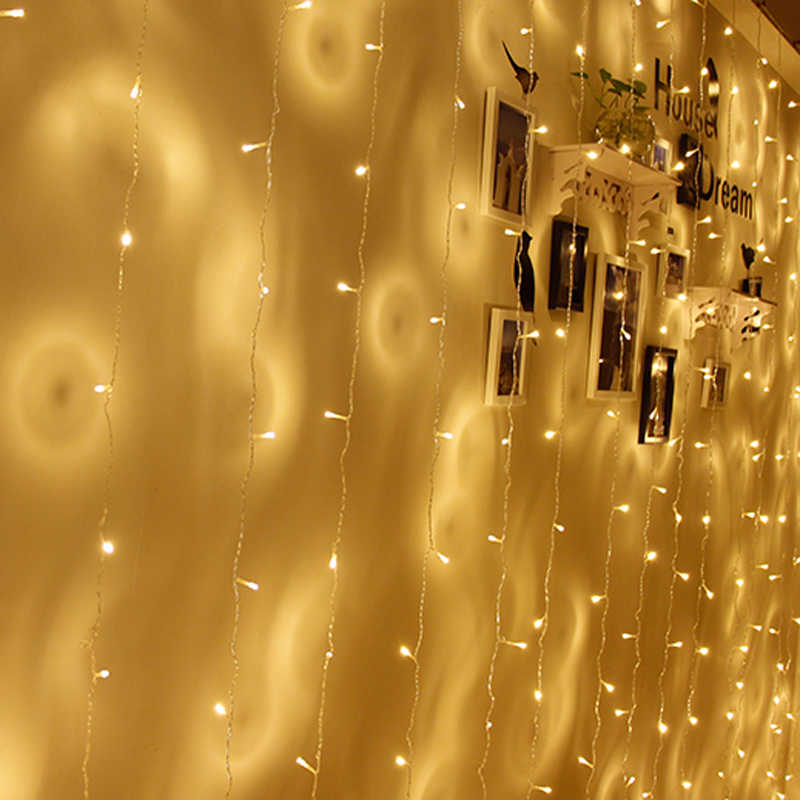 Battery Powered Led String Light 2M 3M 4M  5M 10M 3*AA Battery Operated Garland Outdoor Indoor Home Christmas Decoration Light