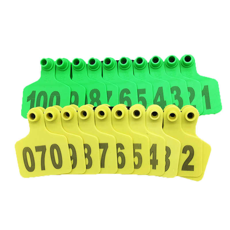 1000 Set Cow Cattle Tpu Ear Tag Signs