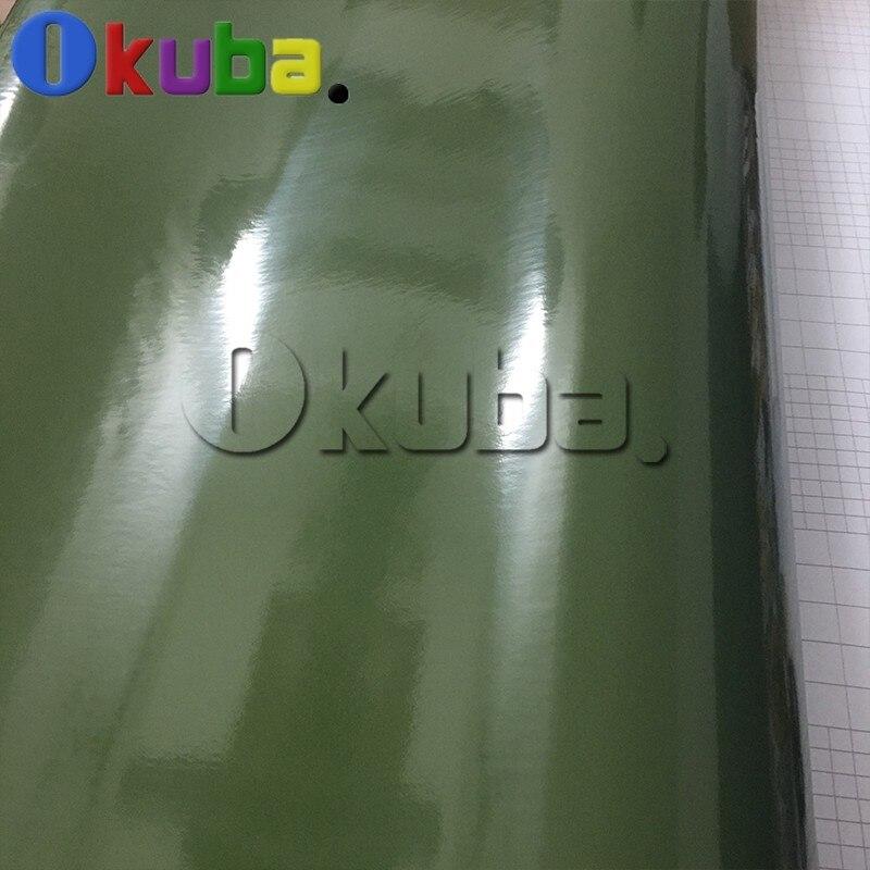 army-green-glossy-vinyl-car-wrap-decal-sticker-1