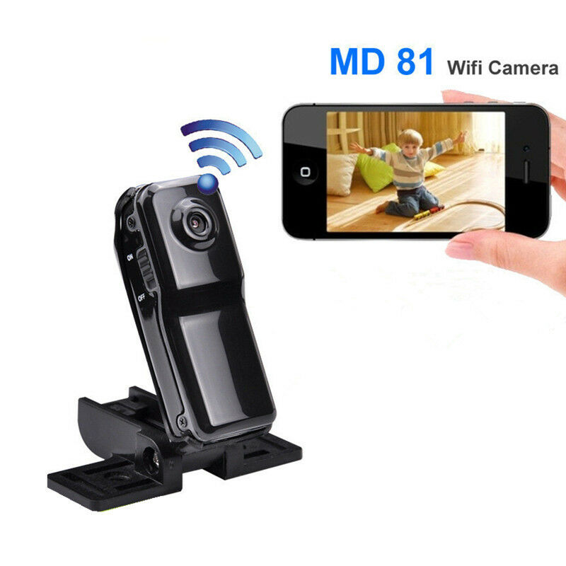 32GB Card+Camera DV Wireless MD81S Ultra Small Wifi Long Discance Monitor/Remote Control