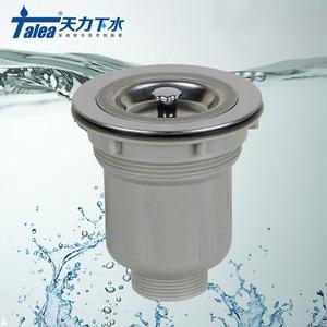 Кухонная раковина из нержавеющей стали Talea 114 мм, фильтр для корзины, фильтр для раковины, сливный фильтр для предотвращения мусора