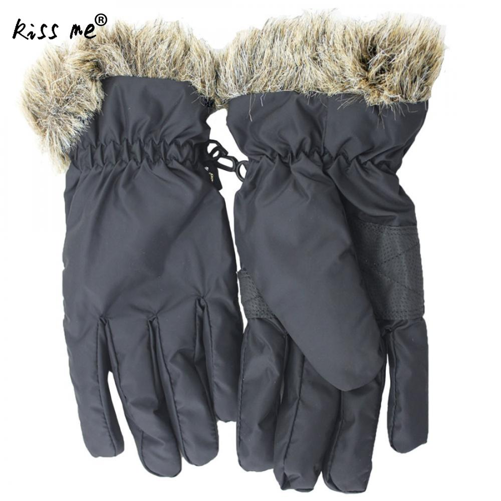 Waterproof Skiing Gloves Winter Warm Inspirational Gloves Men Women Ski Gloves Snowboard Riding Winter Snow Anti-Skidding Gloves