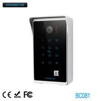 Promo HOMSECUR BC081 CÁMARA DE exterior con función RFID para sistema de teléfono de puerta de vídeo
