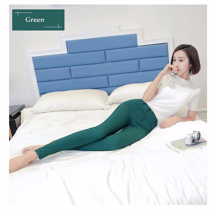 7 Colors Plus Size Pants Full Length Women Spring Autumn Pencil Pants Causal Slim High Waist Legging Stretch Trousers 2016 A663  a