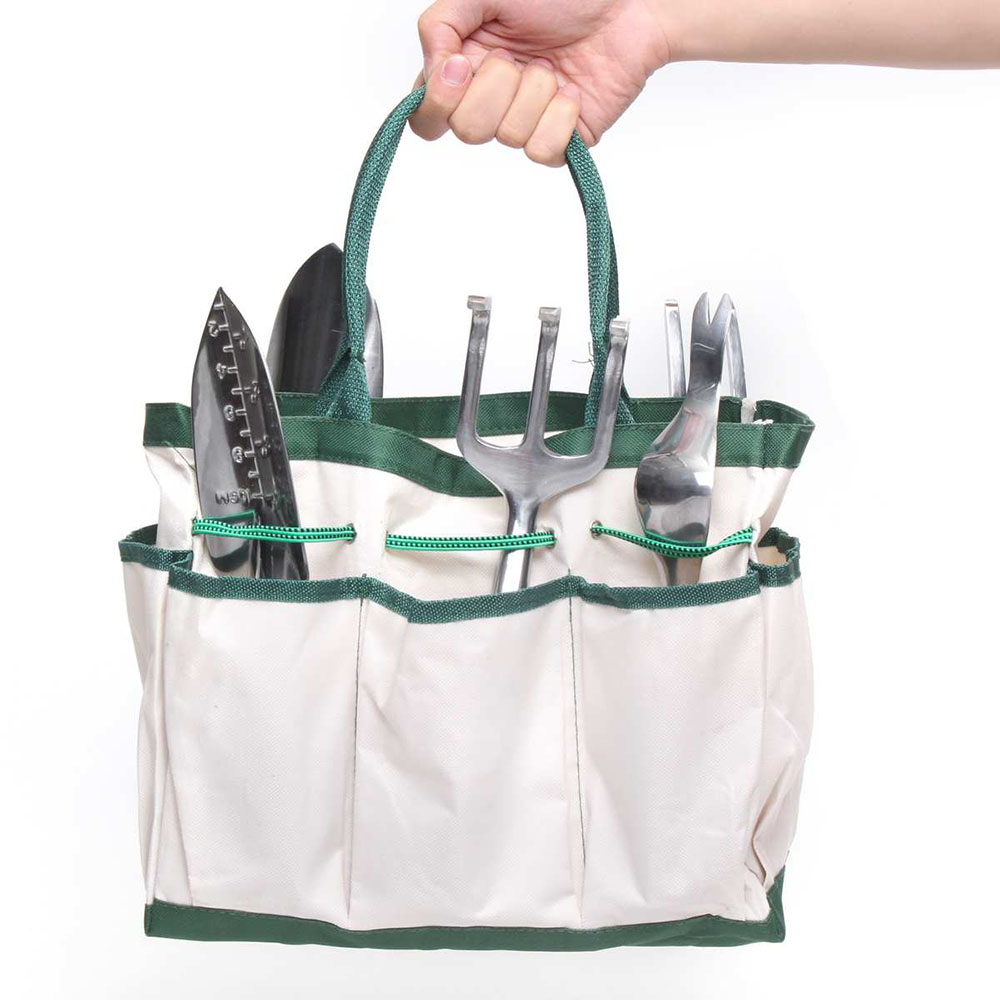 Oxford Cloth Garden Tool Bag Outdoor Work Hand Tools Hardware Storage Electrician Gardening Tool
