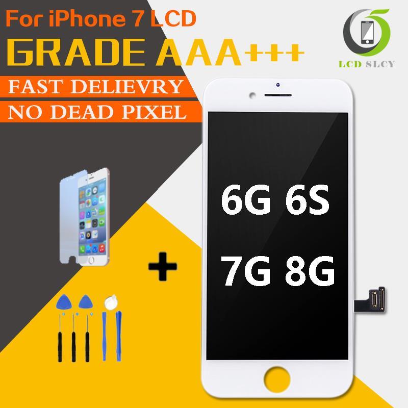 Qualité tactile 3D parfaite AAA + pour iPhone 7 LCD 4.7 pouces écran d'affichage LCD tactile approvisila gamme de couleurs élevée pour iPhone 6 6S 7 8 LCD