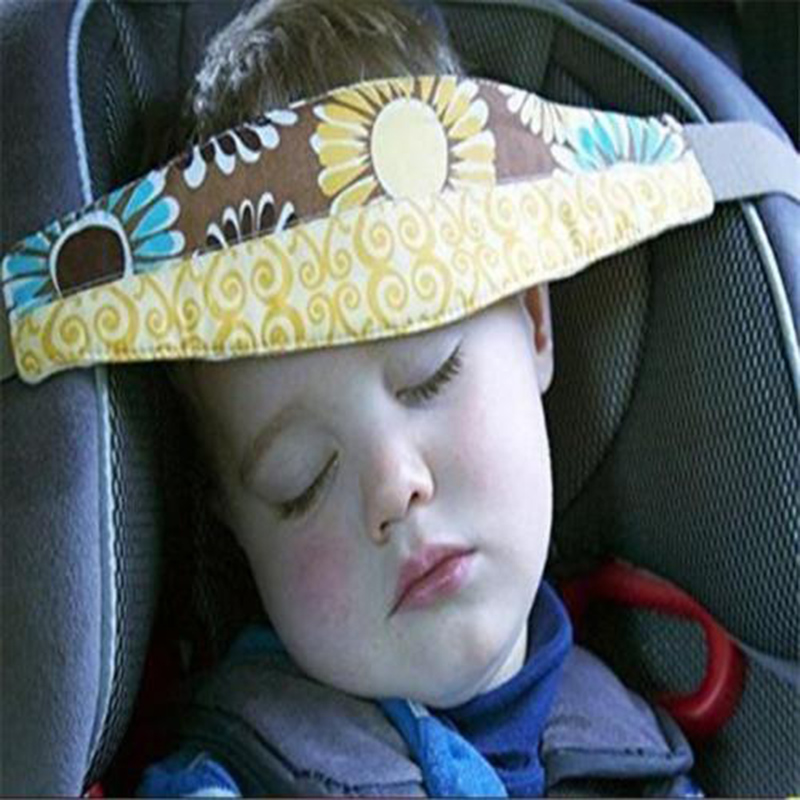 Random Baby Safety Stroller Car Seat Sleep Nap Aid Head Fasten Holder Belt