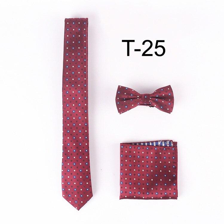 ツ)_/¯Lingyao designer ties set 5 cm ocio estrecha corbata con ...