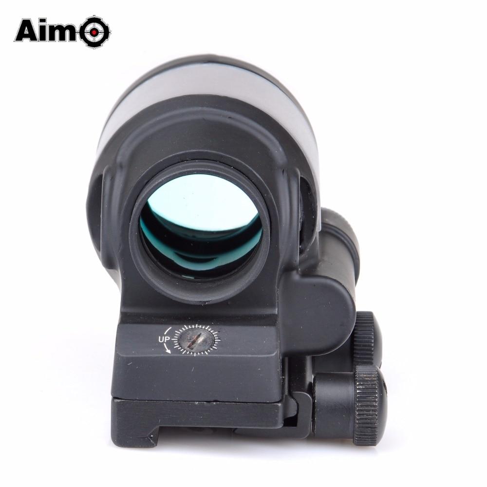 Aim-O Hunting Red Dot SRS Dəmir Reflex 1x38 Görmə sahəsi Optika - Ovçuluq - Fotoqrafiya 4