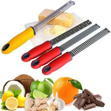 3 en 1 herramientas de utensilios de cocina de acero inoxidable rallador de queso de chocolate lemon fruit peeler zester herramientas 2017ing