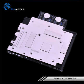 Bykski N-GV1070MI-X, Full Cover Graphics Card Water Cooling Block RGB/RBW for Gigabyte GTX1070 Mini ITX OC 8G ,GTX1070 IXOC